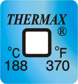 TLCSEN137: Temperature Label 1 Level-370F/188C