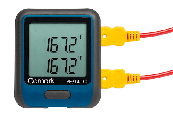 CMKREC028: RF314 WiFi Data Logger with Dual Thermocouple Input