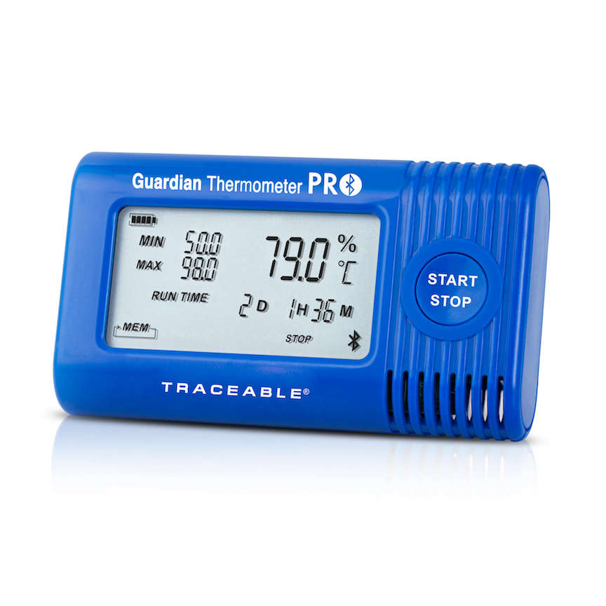 COCREC011: Guardian Thermometer PRO Bluetooth Data Logger with Internal Temperature Sensor