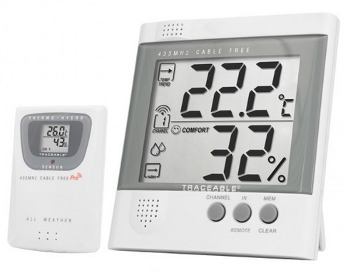 COCSEN062: Traceable Radio-Signal Remote Humidity/Temperature Thermometer