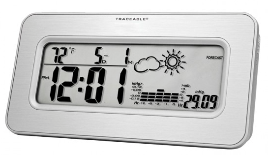 COCSEN111: Traceable Workstation Barometer with Clock