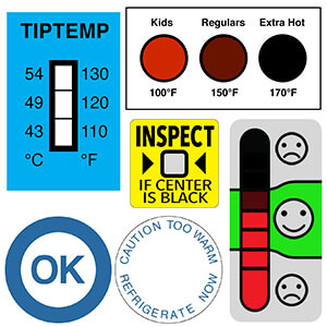 Custom Temperature Labels
