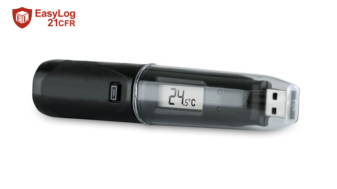 LASREC039: 21CFR USB Temp Logger with LCD Display