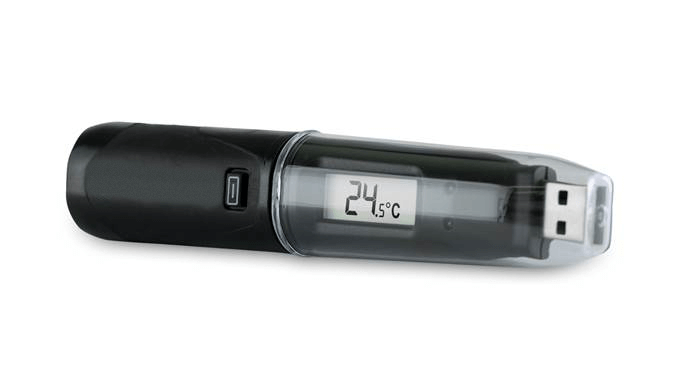 LASREC012: USB Temperature Logger with LCD Display