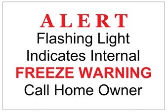 FREACC006: Freeze Warn Alert Sign