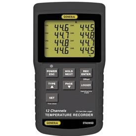 GENREC005: 12 Channel Thermocouple Recorder