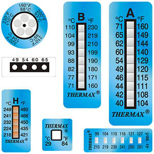 Irreversible Temperature Labels