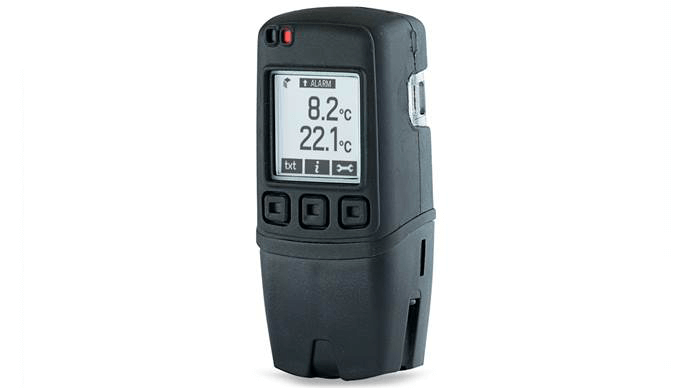 LASREC022: Dual Channel Thermocouple Data Logger with Graphic LCD Display