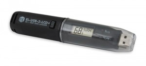LASREC026: High Accuracy Humidity, Temperature and Dew Point Data Logger with LCD