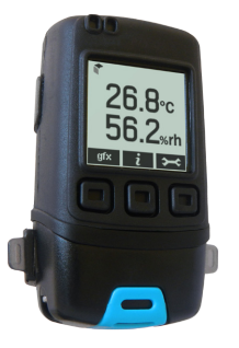 LASREC029: High Accuracy Temperature and Relative Humidity Data Logger with Graphic LCD Display