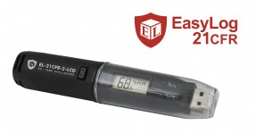LASREC034: 21CFR-Compatible Temperature, Humidity & Dew Point Data Logger