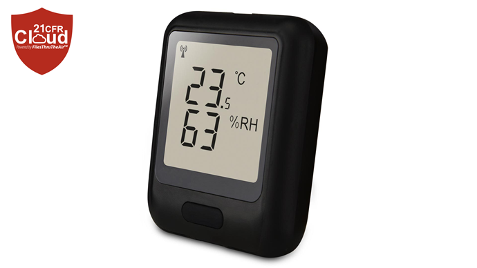 LASREC036: 21CFR WiFi Temp Humidity Data Logger