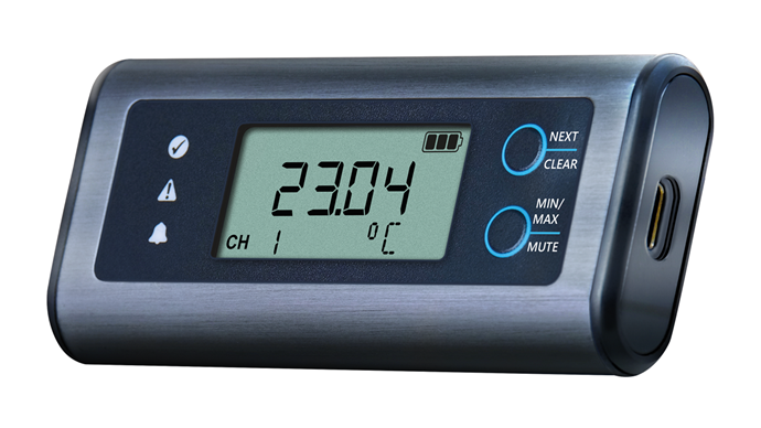 LASREC066 Temperature and Humidity USB Data Logger