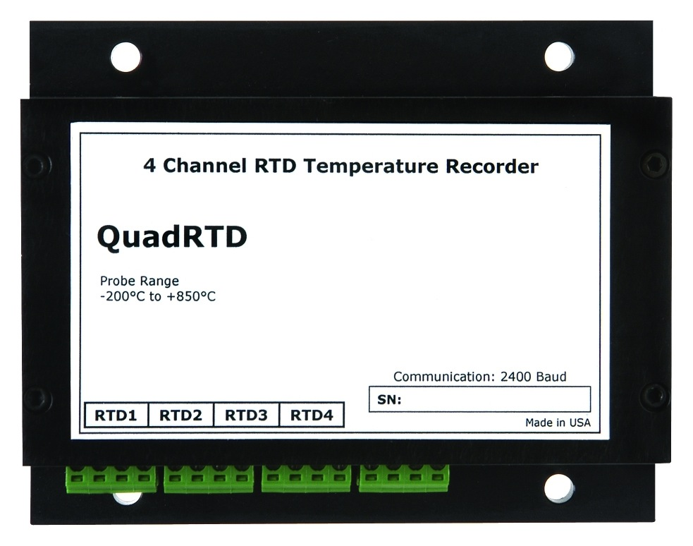 MATREC133: 4 Channel RTD Temperature Data Logger
