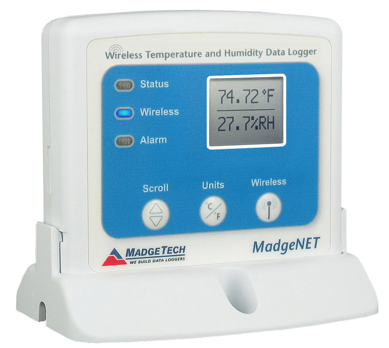 Matrec141 Madgetech Rfrhtemp2000a Wireless Temperature And Humidity Pic Logger Data Loggers