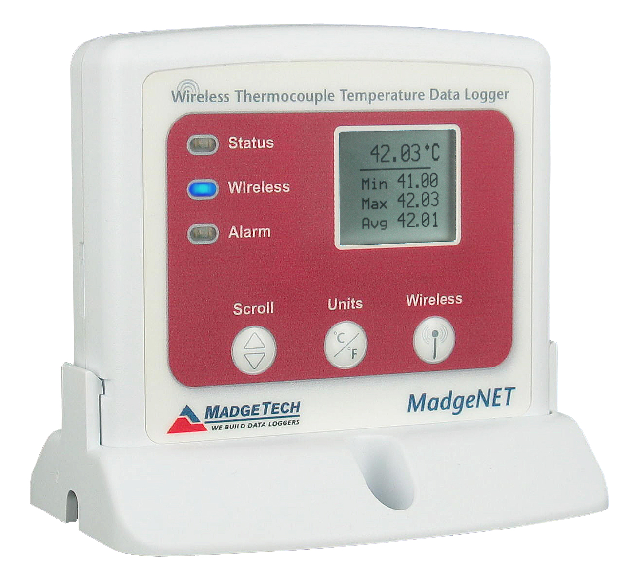 MATREC142: Wireless Thermocouple Temperature Data Logger