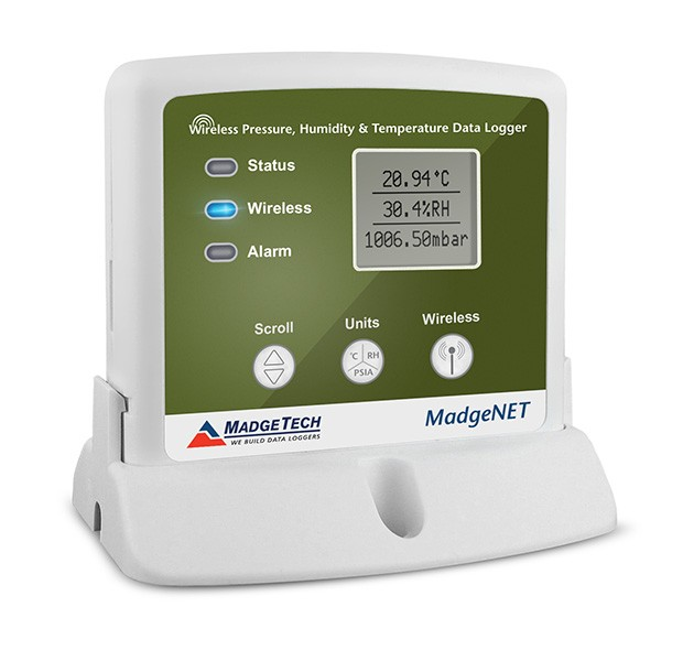 MATREC150: Wireless Temperature, Humidity, and Pressure Data Logger
