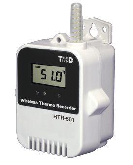 TADREC029: RTR-501L Wireless Temperature Data Recorder High Accuracy ±0.5°C with Long Life Battery