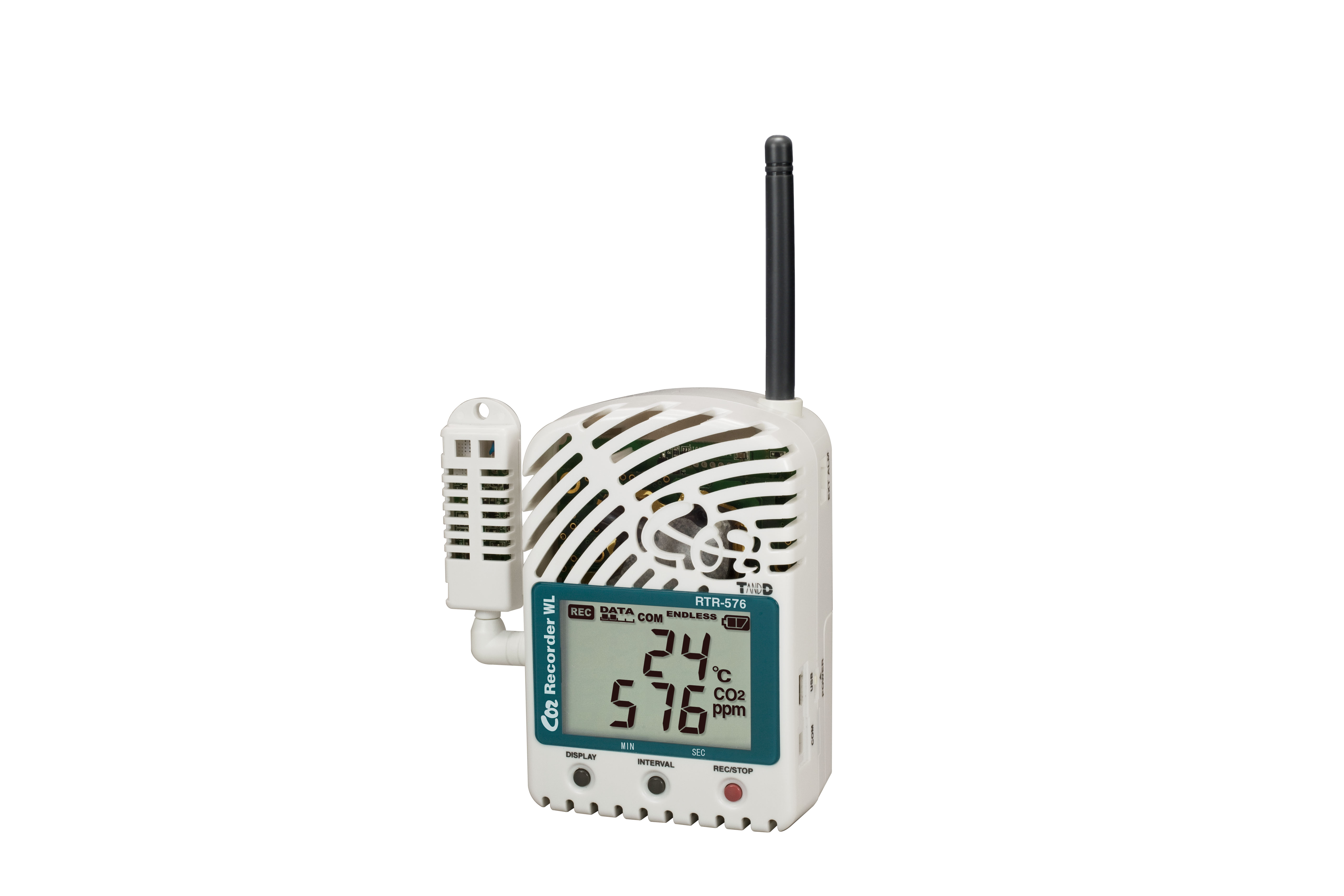 TADREC040: RTR-576 C02, Temperature, and Humidity Data Logger