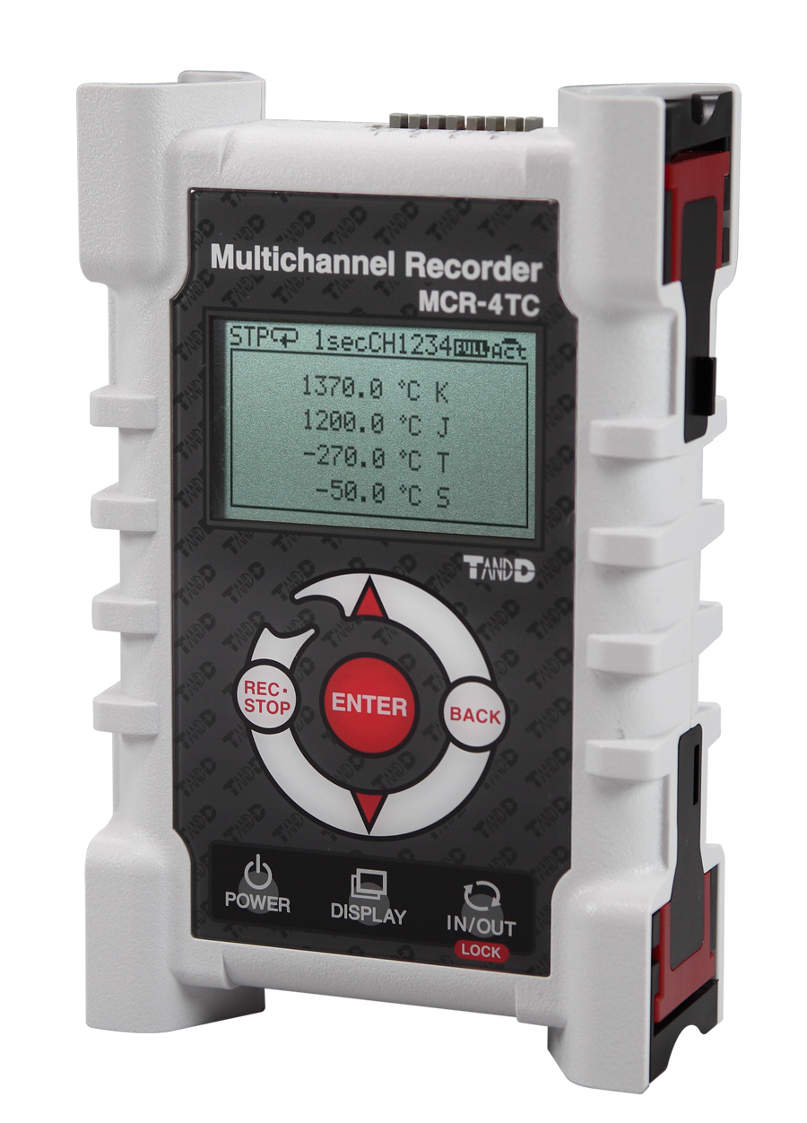 TADREC060: MCR-4TC 4 Channel Thermocouple Temperature Logger