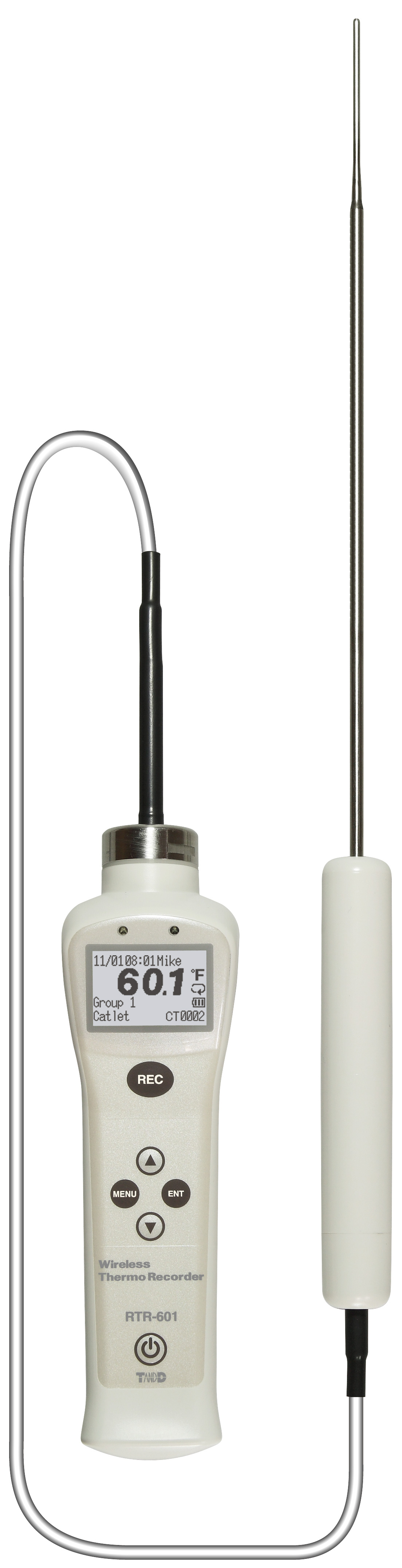 TADREC066: RTR-601-E30 Long Sensor Type Food Core Temperature Logger with Cable