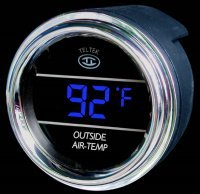 TELMTR005 OUTSIDE AIR-TEMP GAUGE with ICE WARNING