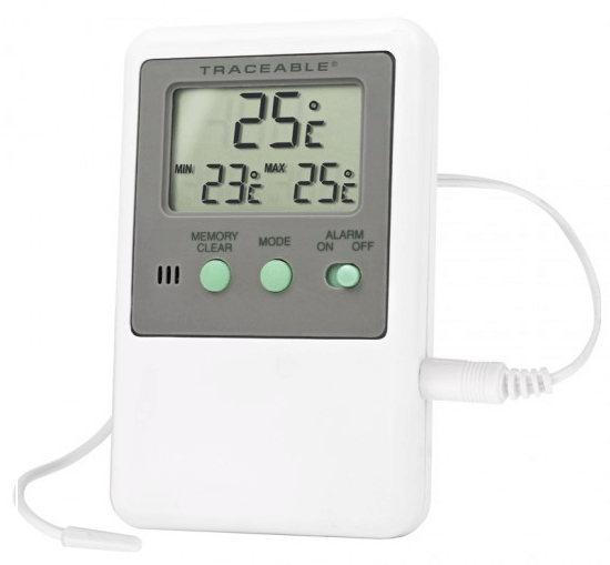 THOSEN001: Thermometer with Mix/Max Display and Alarm Tone