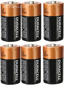 TIPACC286P01: Battery - C Alkaline (Pack of 6)