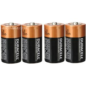 TIPACC286p03: Battery - C Alkaline (Pack of 4)