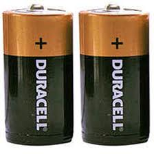 TIPACC291P01: Battery - D Alkaline (Pack of 2)