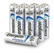 TIPACC326P04: Battery - Energizer Lithium AA (Pack of 8)