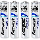 TIPACC327P02: Battery - Energizer Lithium AAA (Pack of 4)
