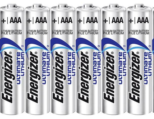 TIPACC327P03: Battery - Energizer Lithium AAA (Pack of 6)