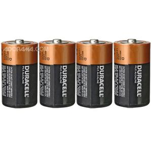 TIPACC291p02: Battery - D Alkaline (Pack of 4)