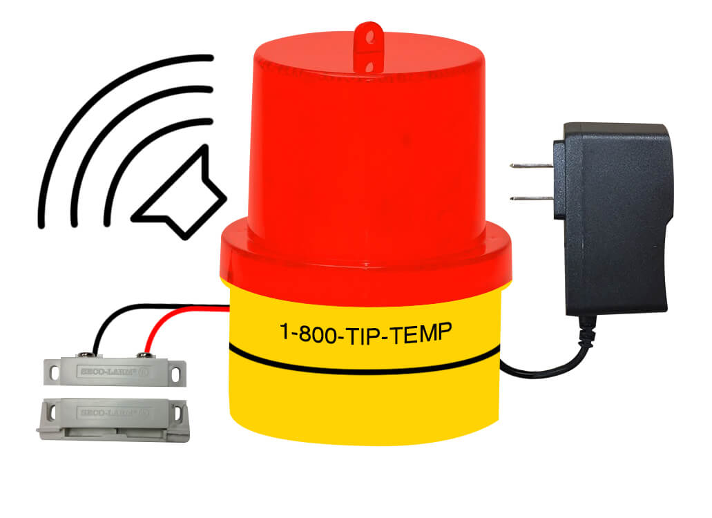 TIPALM003P02: Door Ajar Warning Light with AC/DC Power with Buzzer