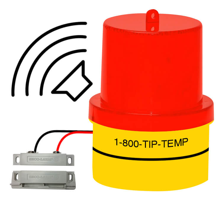 TIPALM003P03: Door Ajar Warning Light with Buzzer