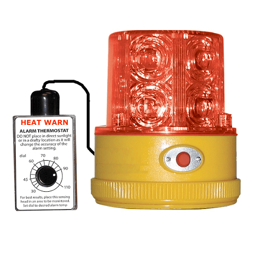 TIPALM009: Heat Warn Light