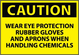 TIPHEN202: Chemicals Caution Sign
