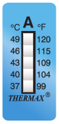 TLCSEN004: Temperature Label 5 Level Strip-A