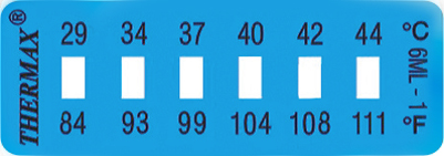 TLCSEN005: Temperature Label 6 Level Mini Strip-1