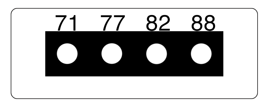 TLCSEN057: Temperature Label 4 Level MICRO Strip-3
