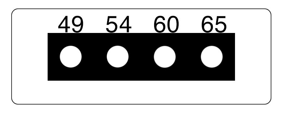 TLCSEN077: Temperature Label 4 Level MICRO Strip-2