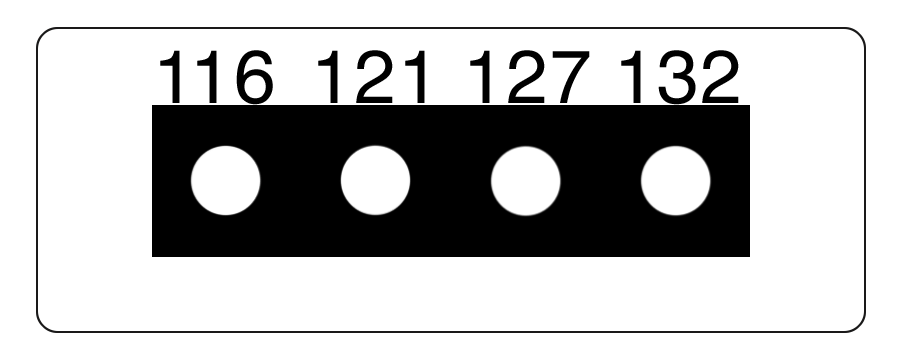 TLCSEN079: Temperature Label 4 Level MICRO Strip-5