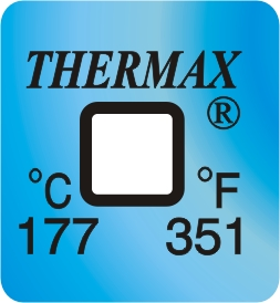 TLCSEN135: Temperature Label 1 Level-351F/177C