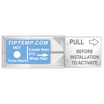 TLCSEN162: Temperature Label Tempasure Plus Indicator