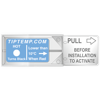 TLCSEN187: Temperature Label Tempasure Plus Indicator