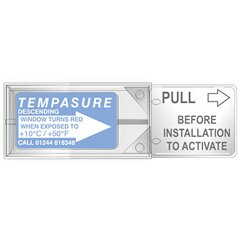 TLCSEN282: Temperature Label Tempasure Descending Indicator