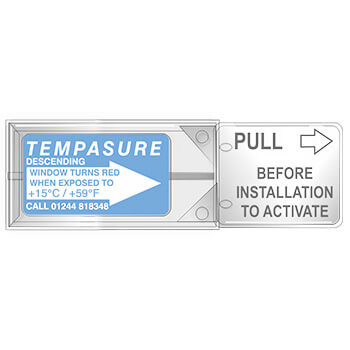 TLCSEN358: Temperature Label Tempasure Descending Indicator