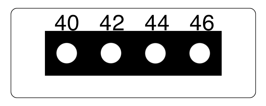TLCSEN458: Temperature Label 4 Level MICRO Strip-1
