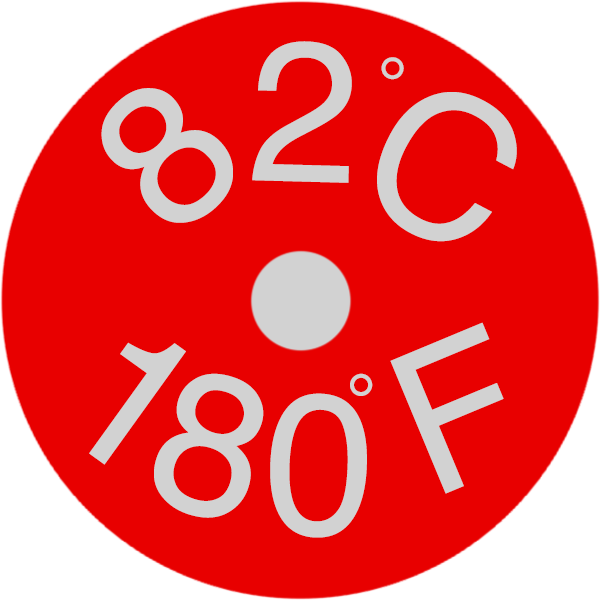 TLCSEN499: Micro Dot Temperature Label